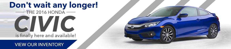 New 2016 Honda Civic Peoria AZ