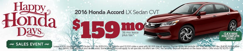 New 2016 Honda Accord Peoria AZ