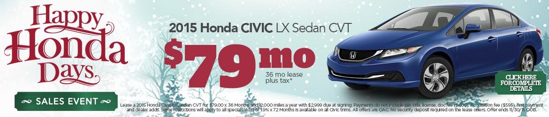 New 2015 Honda Civic Peoria AZ