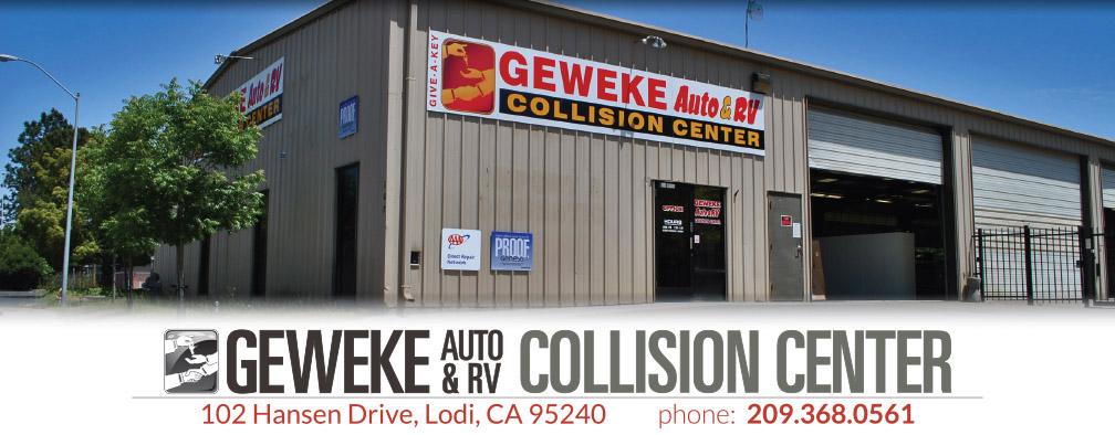Geweke Auto & RV Collision Center - Lodi, Stockton and Elk Grove areas