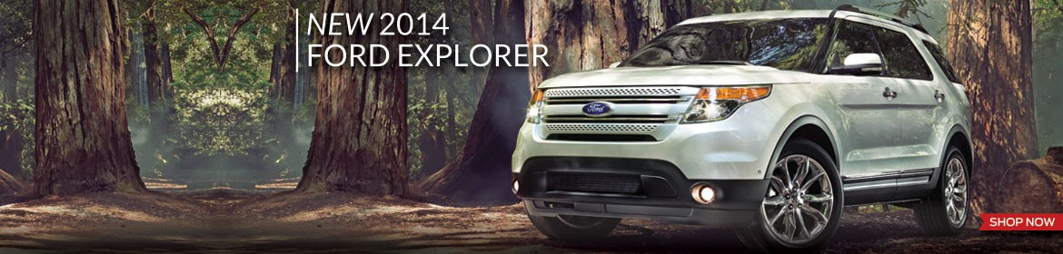 New 2014 Ford Explorer now in stock!