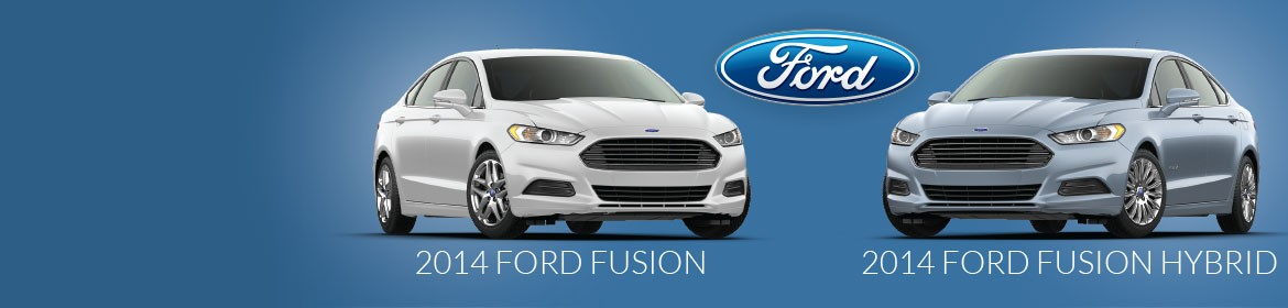 2014 Ford Fusion and Fusion Hybrid - Now in stock!
