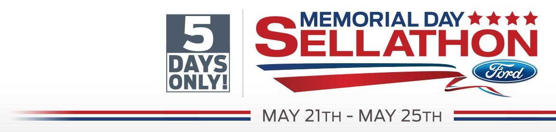 Ford's Memorial Day Sellathon - May 20 - May 25 2015