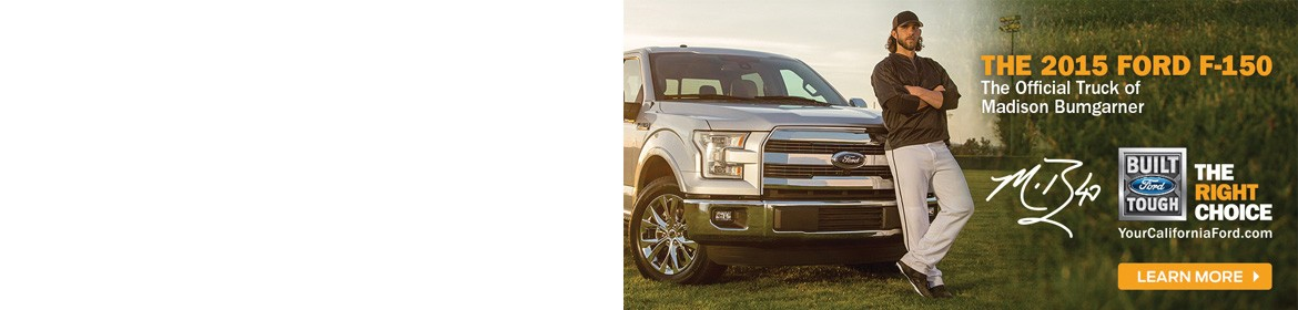 The 2015 Ford F-150 - The Official Truck of Madison Bumgarner