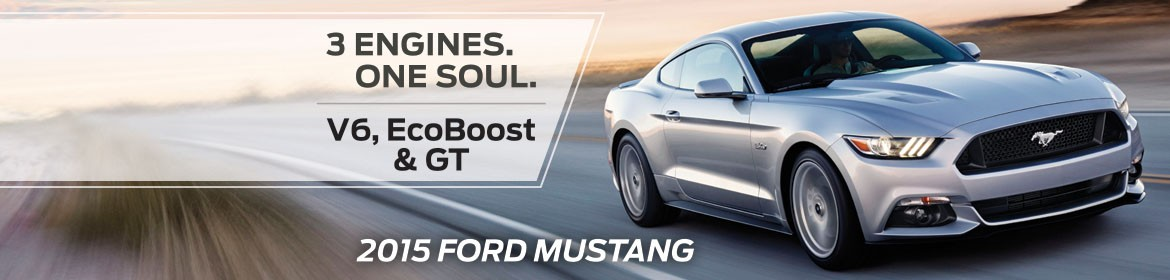 2015 Ford Mustang - Now in stock!