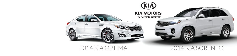 2014 KIA Optima & 2014 KIA Sorento