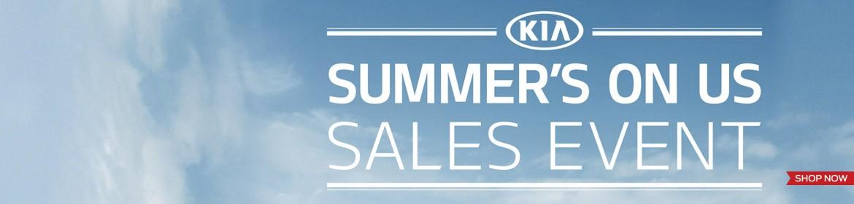 Kia Summer's on Us Sales Event 2015