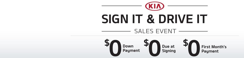 2015 Kia Sign It & Drive It Sales Event