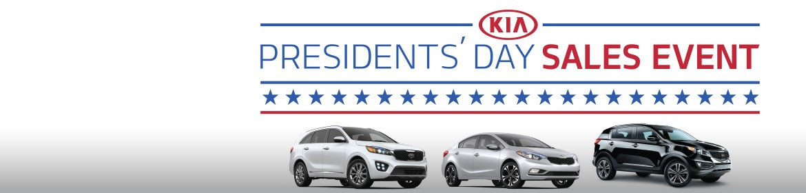2016 Presidents' Day Sales Event!
