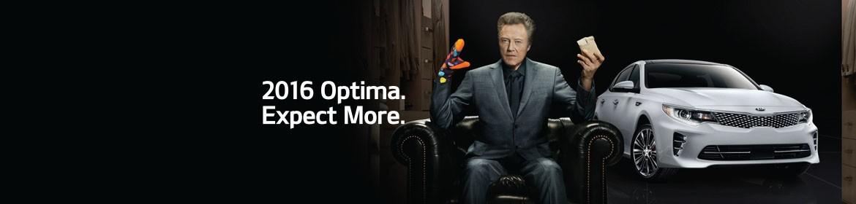 2016 Kia Optima.  Expect More.