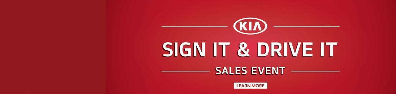 Geweke Kia Sign It & Drive It Sales Event 2014