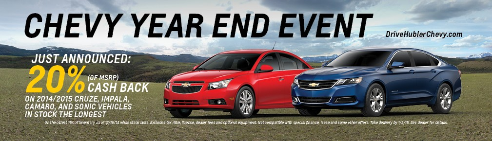 Chevy Year End Event!