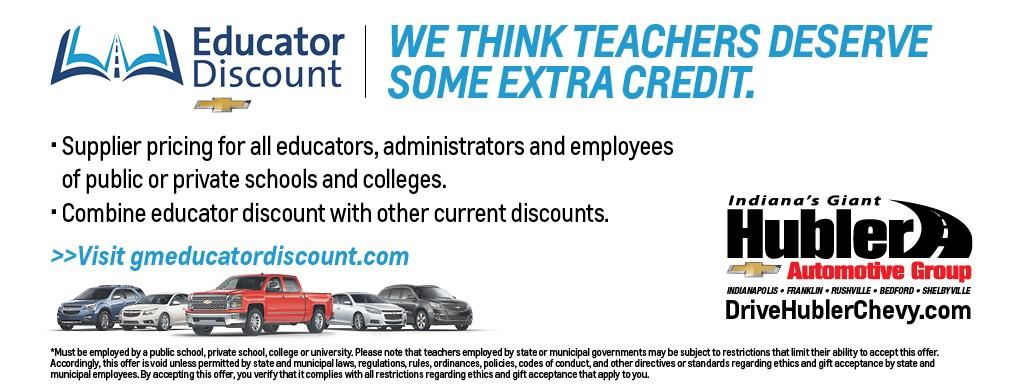 Educator Discount