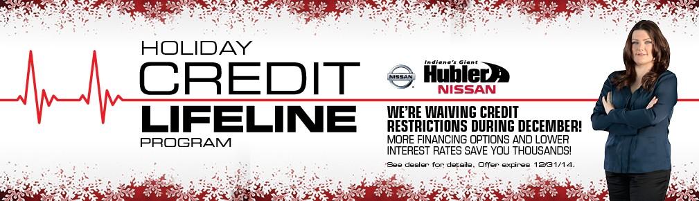 Holiday Credit Lifeline