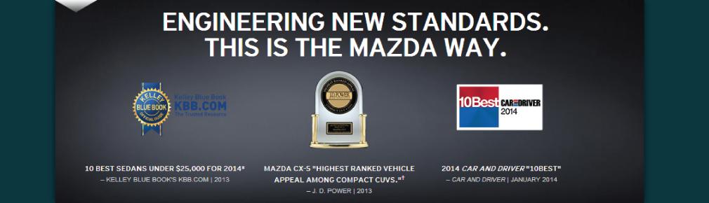 Award winning Mazdas at Hubler in Indianapolis