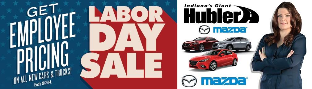 Mazda Labor Day Sale