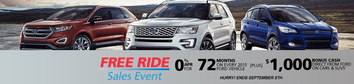 Ford Labor Day Sale