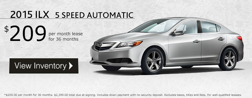 2015 ILX Lease Special