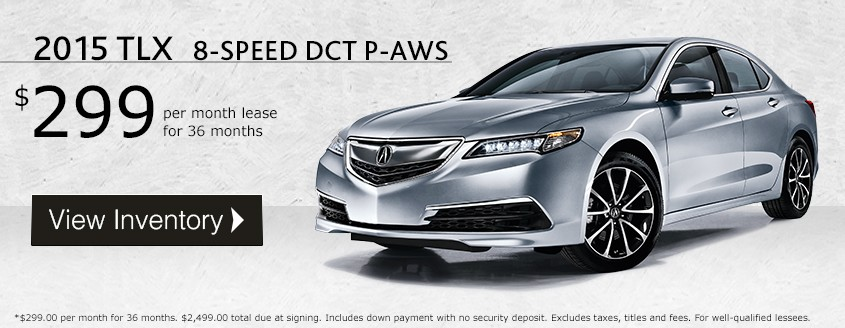 2015 TLX Lease Special