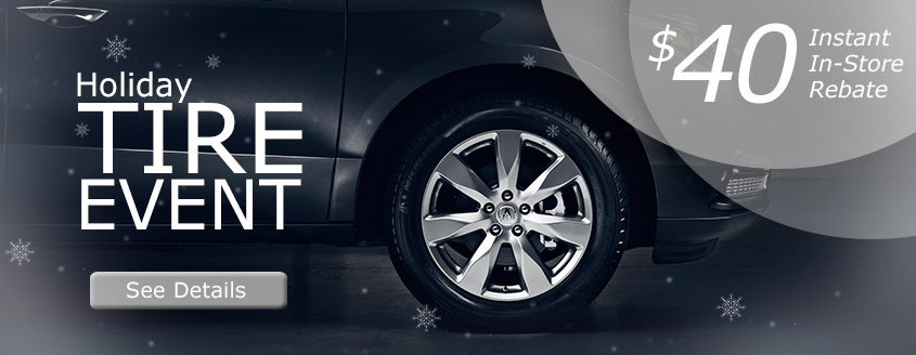 Acura Holiday Tire Event