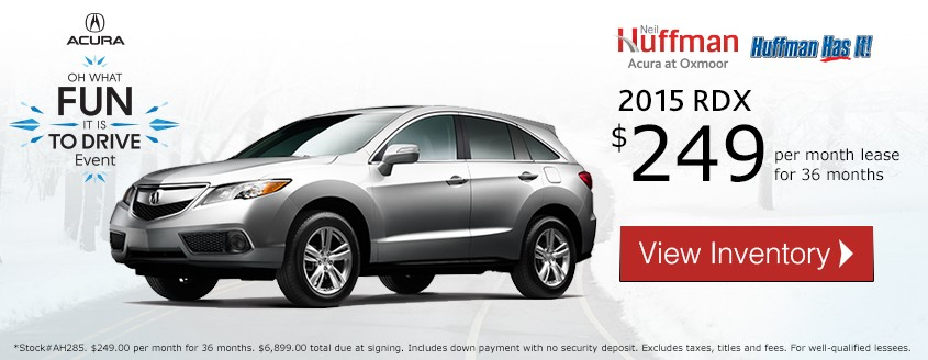 Acura RDX Lease Special