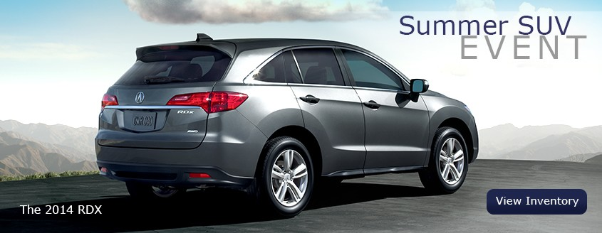 Summer SUV Event at Neil Huffman Acura at Oxmoor