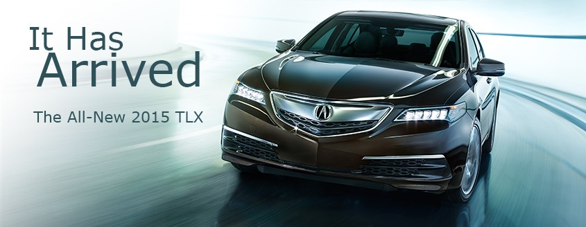 The All-New 2015 TLX Has Arrived