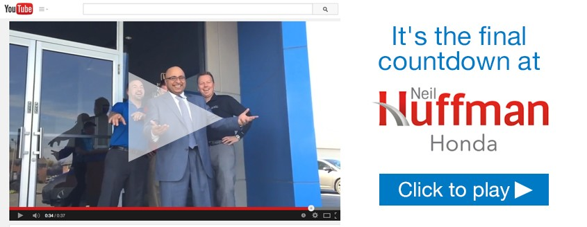 It's the final countdown at Neil Huffman Honda!
