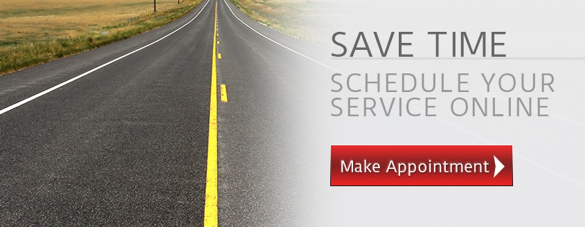 Save Time - Schedule Service Online