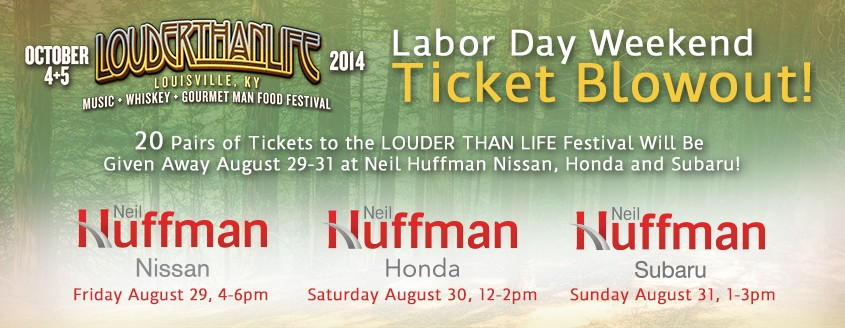 Louder Than Life Labor Day Weekend Ticket Blowout!