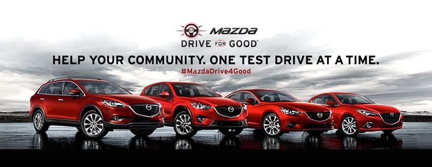 Mazda Drive for Good 2014