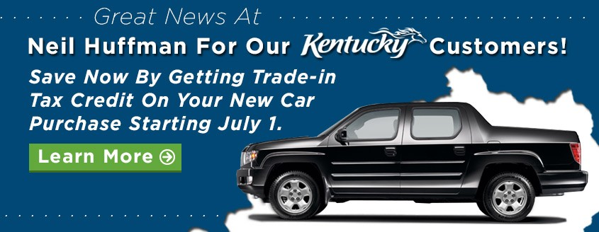 Trade Up At Neil Huffman Honda And Receive Additional Tax Credit
