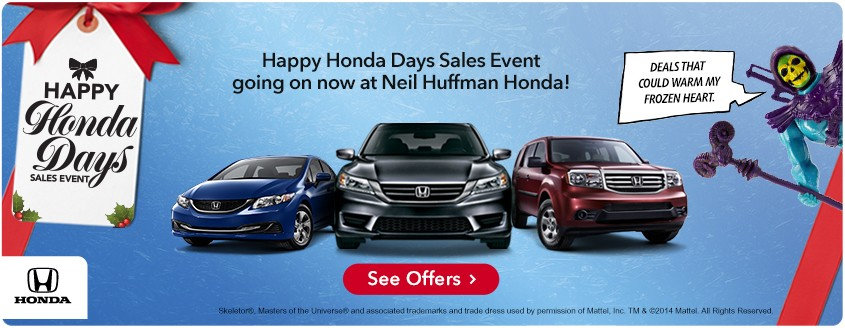Happy Honda Days at Neil Huffman Honda