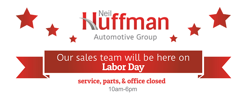 Our Sales Team will be here on Labor Day!