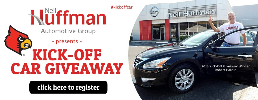 Kick-off Car Giveaway