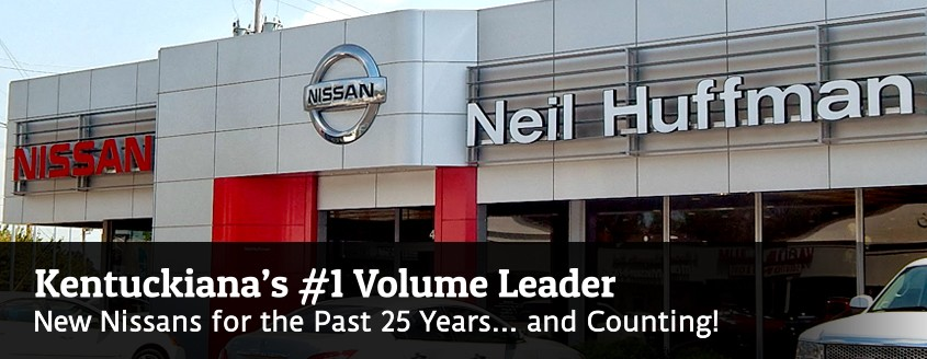 Kentuckiana's #1 Volume Leader - New Nissans for Past 25 Years!