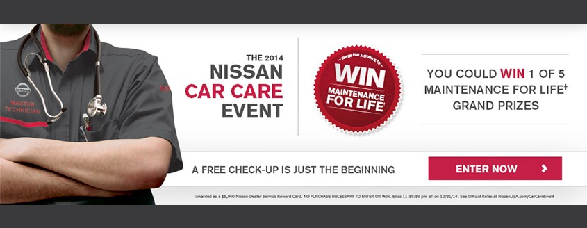 Neil Huffman Nissan - The 2014 Nissan Car Care Event