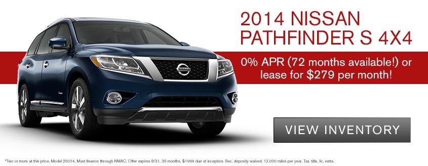 2014 Nissan Pathfinder S 4x4