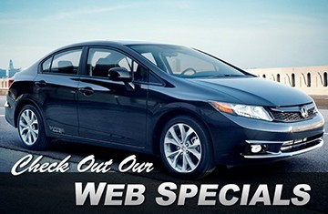 Check out our web specials
