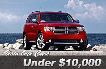 View our cars under $10,000