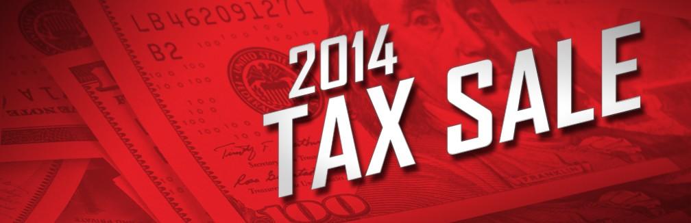 Tax Sale!!