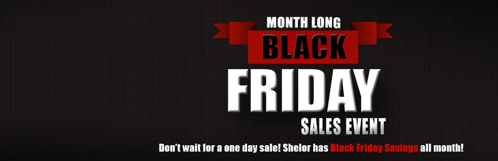 Month Long Black Friday Sales Event