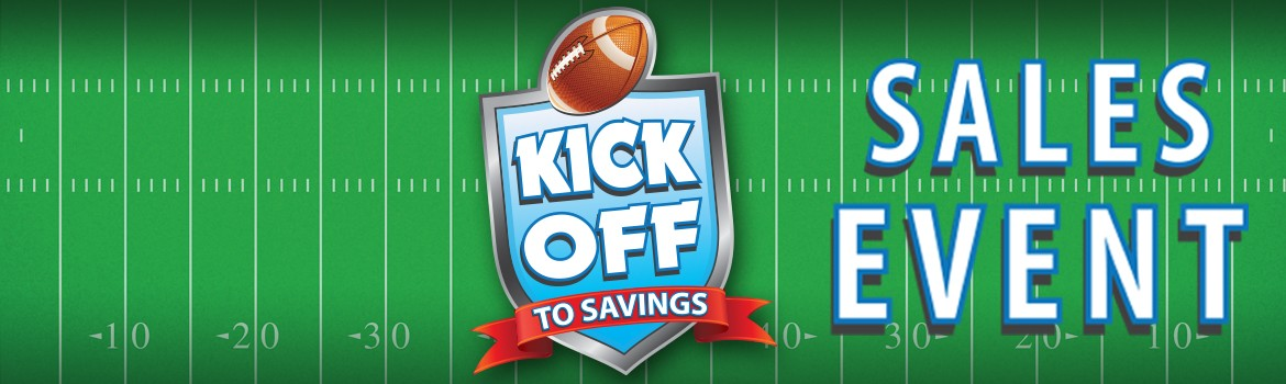 Kick-Off to Savings Sales Event