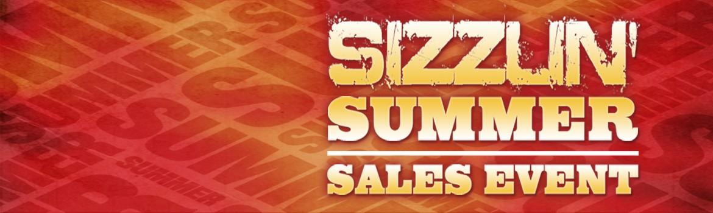 Sizzlin' Summer Sales Event