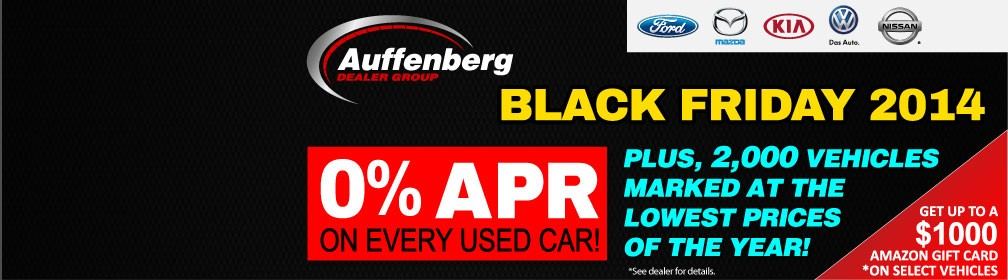 Auffenberg Dealer Group Black Friday 2014