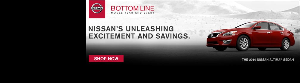 Nissan Bottom Line Sales Event
