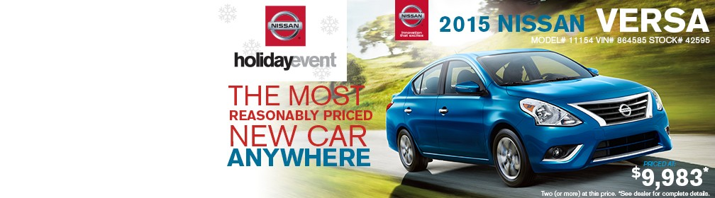 Nissan Holiday Event