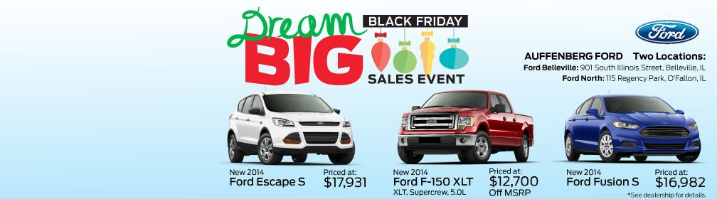 Dream Big Black Friday Sales Event