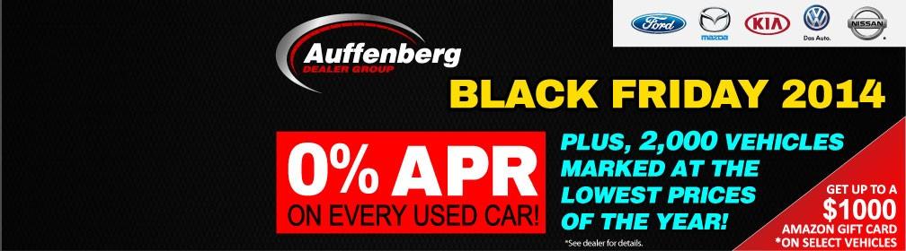 Auffenberg Dealer Group Black Friday 2014