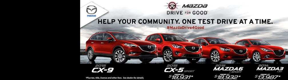 Mazda Drive for Good Event
